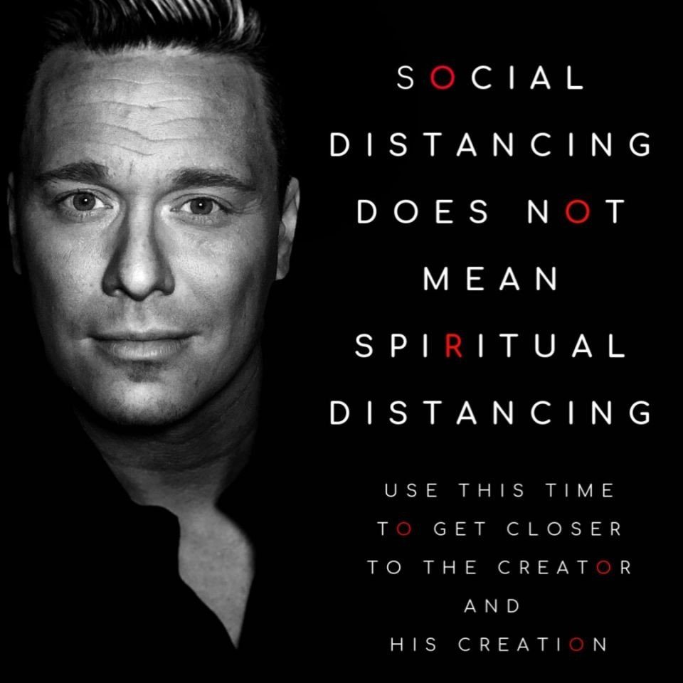 Meme Social Distancing does not mean spiritual distancing