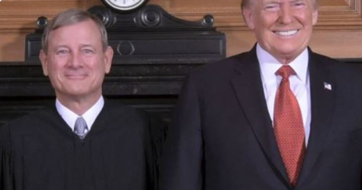 Roberts and Trump from Richardson Post