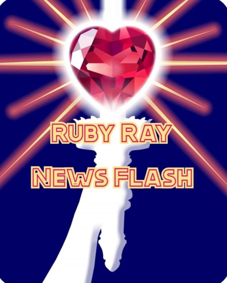 RUBY RAY NEWS FLASH: Always Victory in Current Events, July 12 - 18, 2021