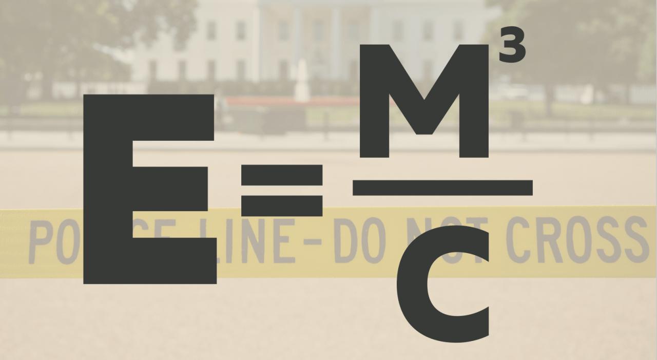 Meme-E-equals-M-cubed-over-C
