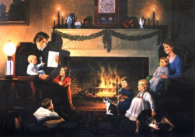 The-Night-Before-Christmas-Family