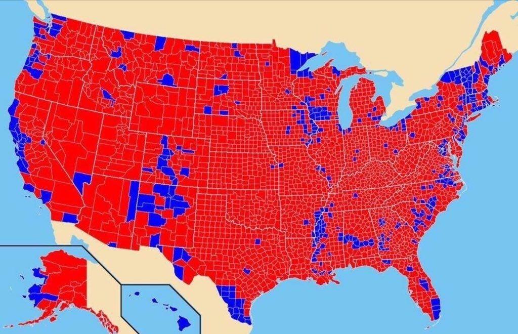 Trump-counties