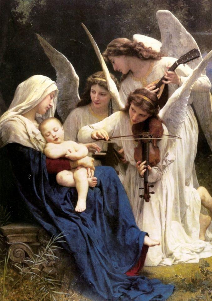 Angels-baby--Jesus-Mary
