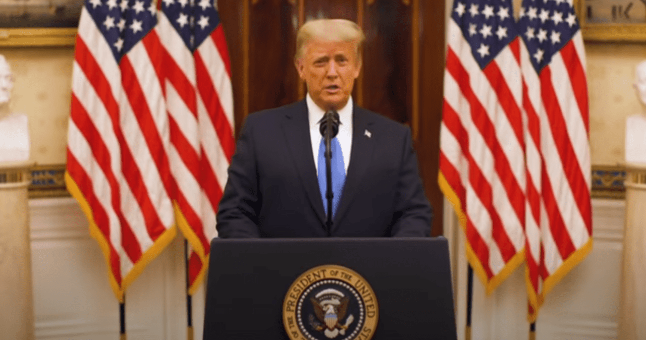 President Trump's Farewell Address to the New World Order