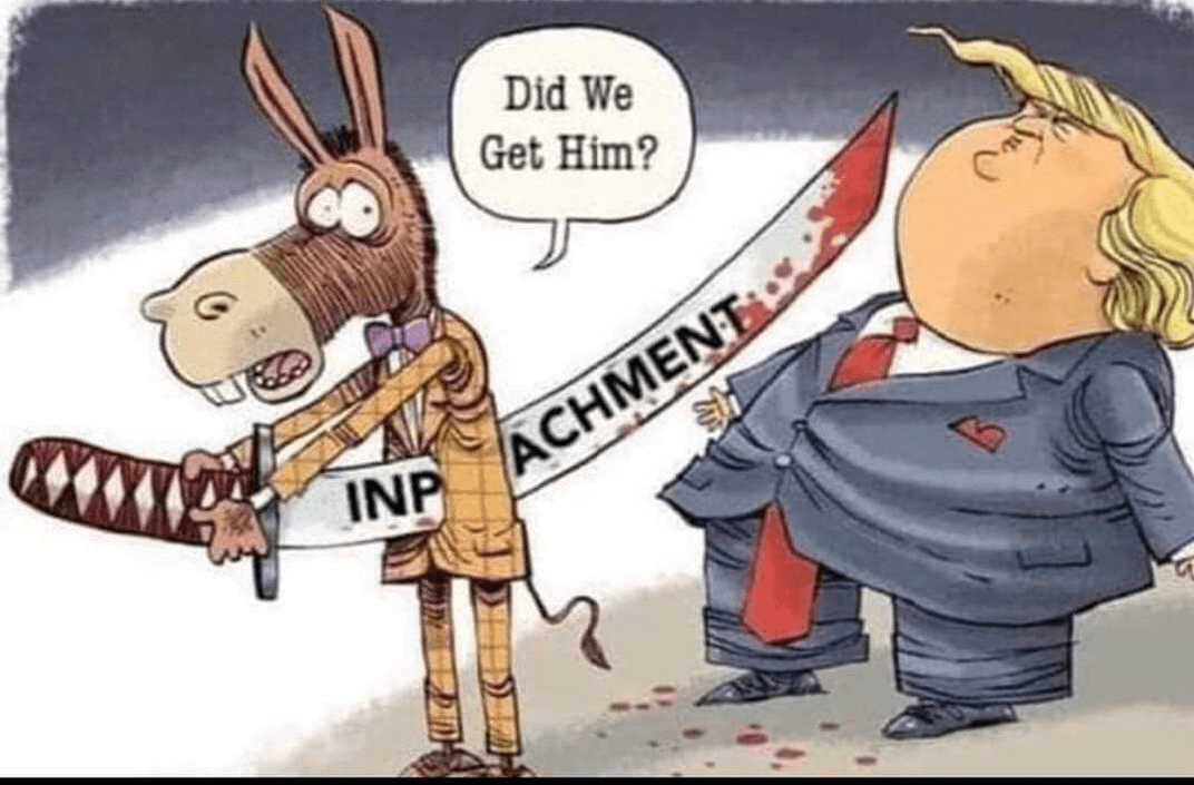 funny-meme-impeachment-donkey-self-impaling-missing-Trump