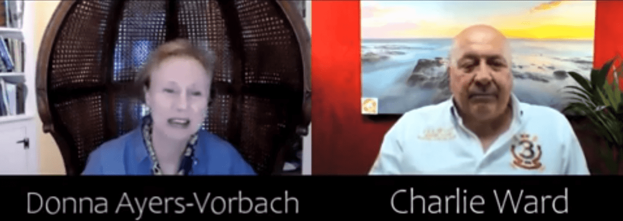 Painter of Mysteries Donna Ayers-Vorbach Talks to Charlie Ward