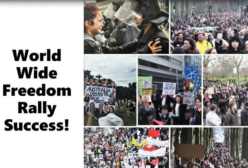 UPDATED: SUCCESS All Around for the World Wide Freedom Rallies