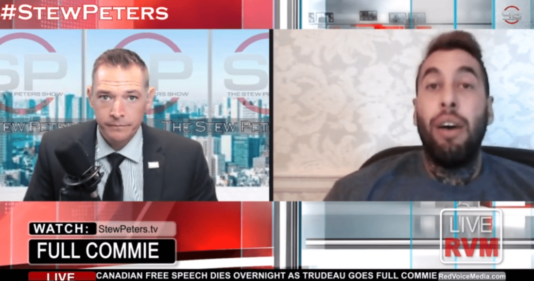 Rumble-SC-Stew-Peters-with-Chris-Sky-on-Bill-C10-to-throttle-free-speech-in-Canada