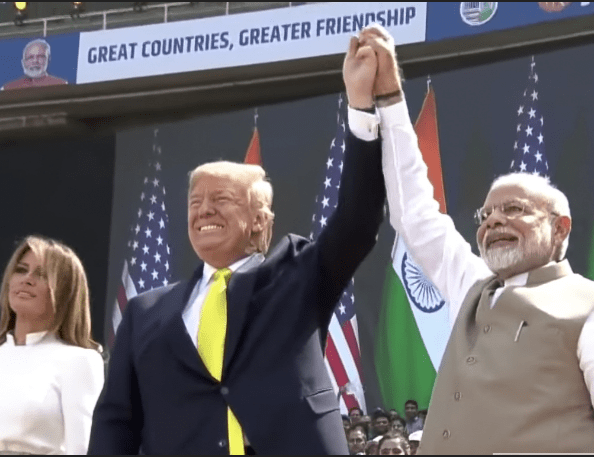 Trump India Great Contries greater friendship