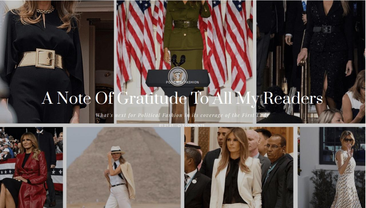 Melania Gratitude from monasalama page 2021