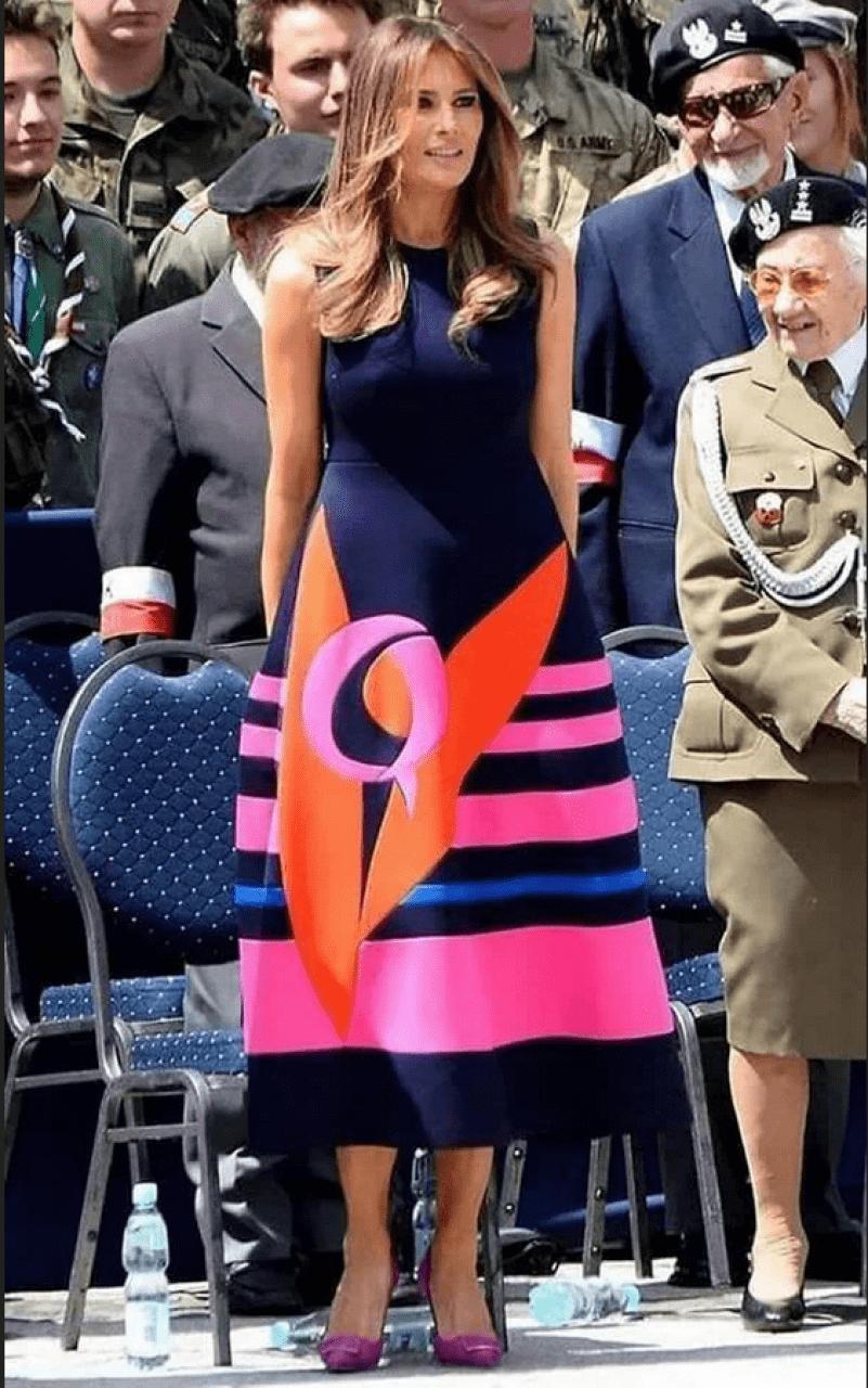 Melania Delpolzo Q Dress