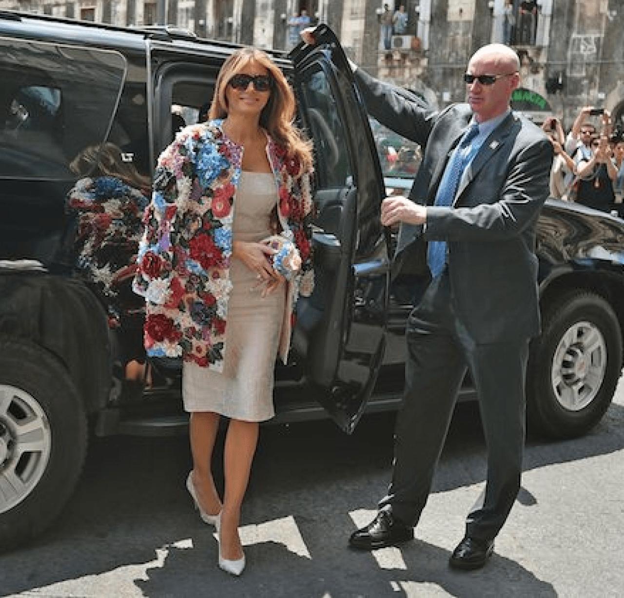 Melania G7 Summit May 26 2017 Sicily